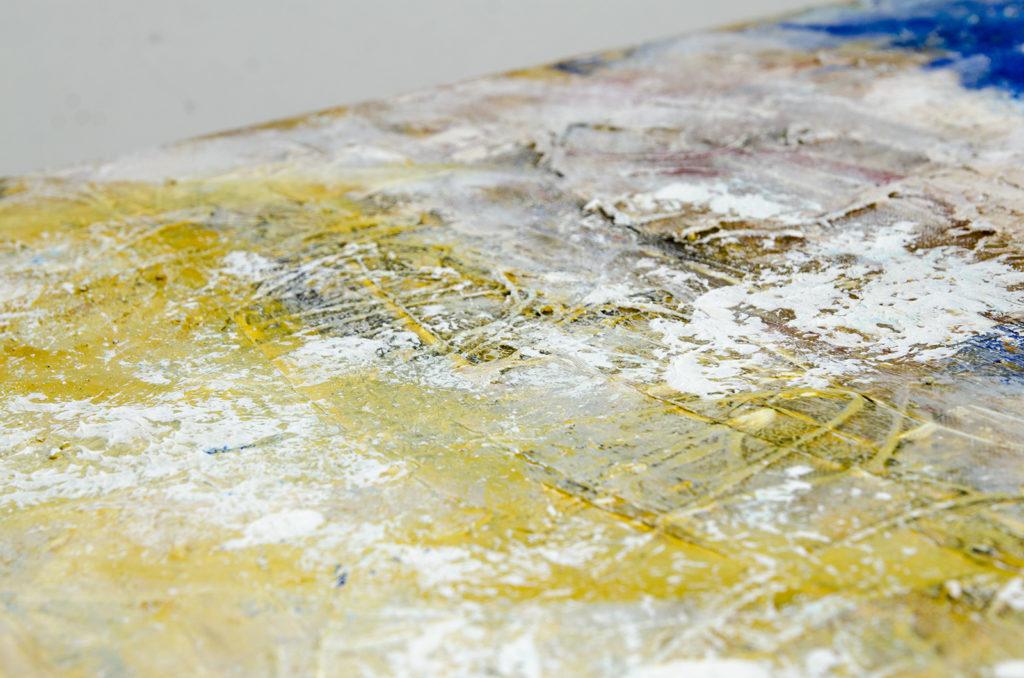 Tableau abstrait annecy. artiste peintre